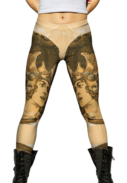 """Hero And Horse"" Womens Leggings"