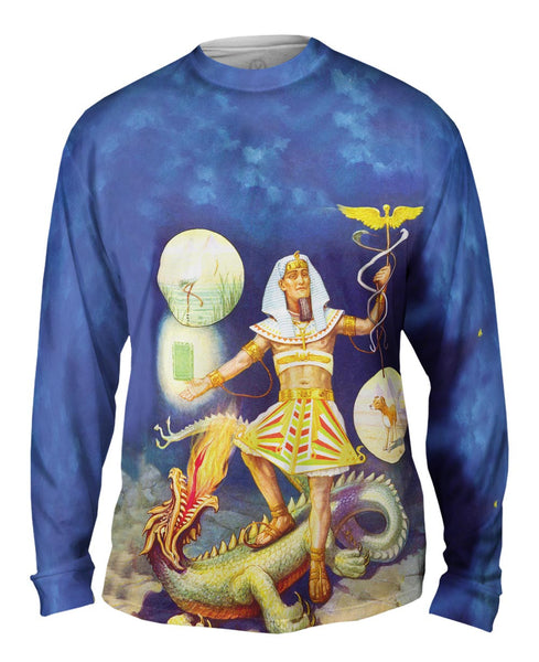 """Egypt Hermes"" Mens Long Sleeve"