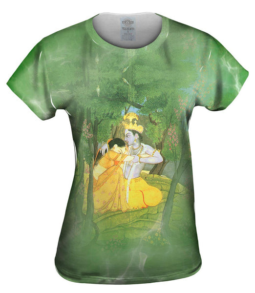 "Indian - ""Krishna and Radha 2"" Womens Top"