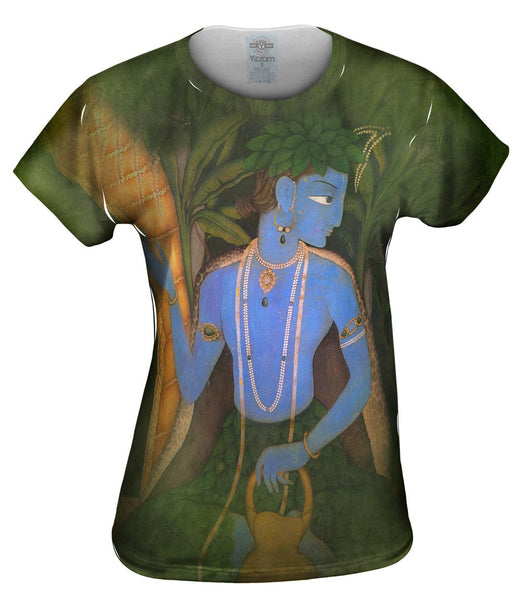 "Indian - ""Rama Garden"" Womens Top"