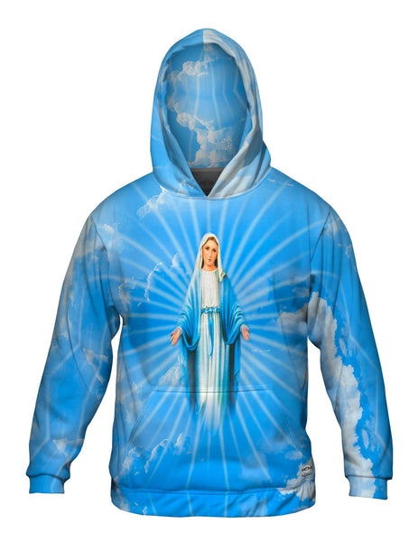 """Blessed Virgin Mary"" Mens Hoodie Sweater"