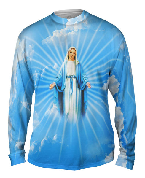 """Blessed Virgin Mary"" Mens Long Sleeve"