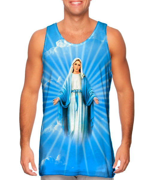 """Blessed Virgin Mary"" Mens Tank Top"
