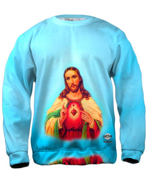 """Blessing Jesus"" Mens Sweatshirt"