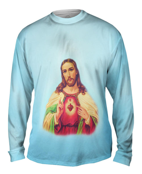 """Blessing Jesus"" Mens Long Sleeve"