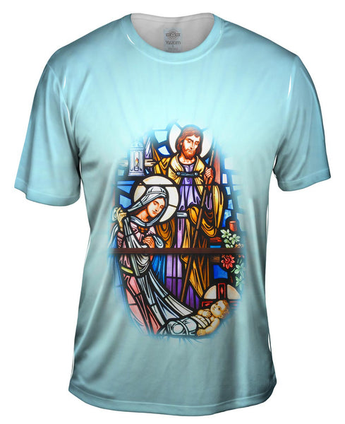 """Birth Of Jesus"" Mens T-Shirt"