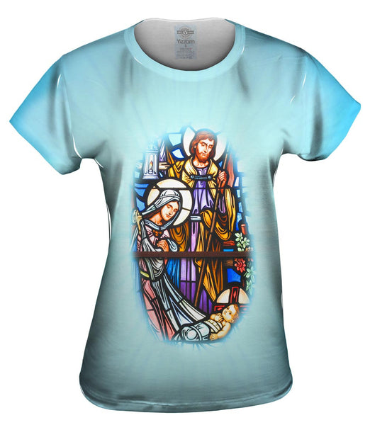 """Birth Of Jesus"" Womens Top"