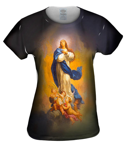 """Immaculate Conception"" Womens Top"