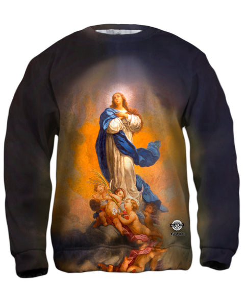 """Immaculate Conception"" Mens Sweatshirt"