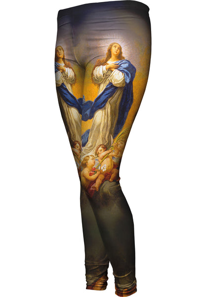 """Immaculate Conception"" Womens Leggings"