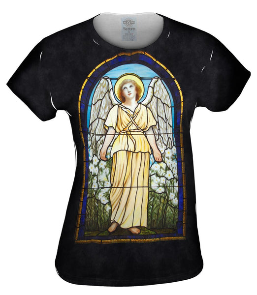 """Stained Glass Angel"" Womens Top"