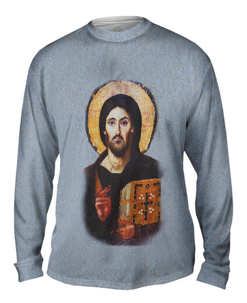 """Oldest Christ Depiction"" Mens Long Sleeve"