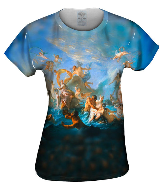 "Nicolas Coypel - ""The Abduction of Europa"" Womens Top"