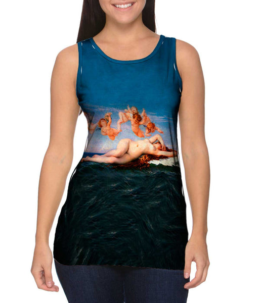 "Alexandre Cabanel - ""The Birth of Venus"" (1863) Womens Tank Top"