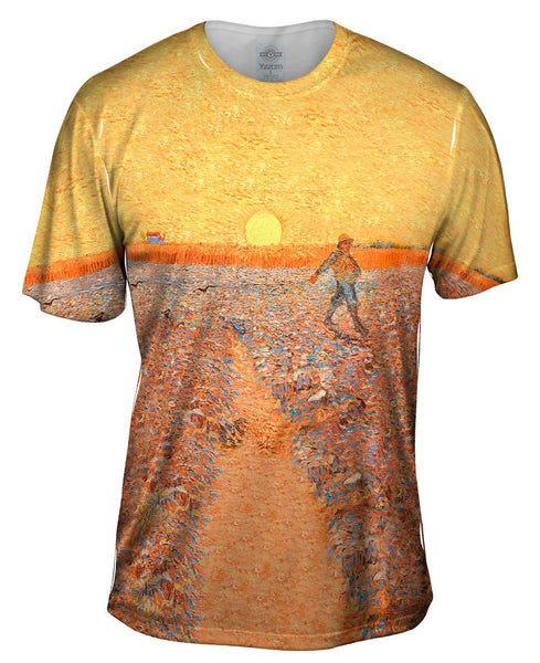 "Vincent van Gogh - ""The Sower"" (1888) Mens T-Shirt"