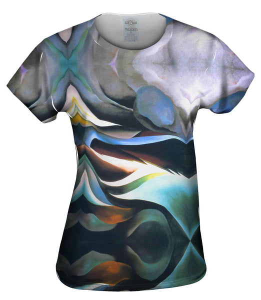 "Georgia O_#_keeffe - ""From the Lake"" (1924) Womens Top"