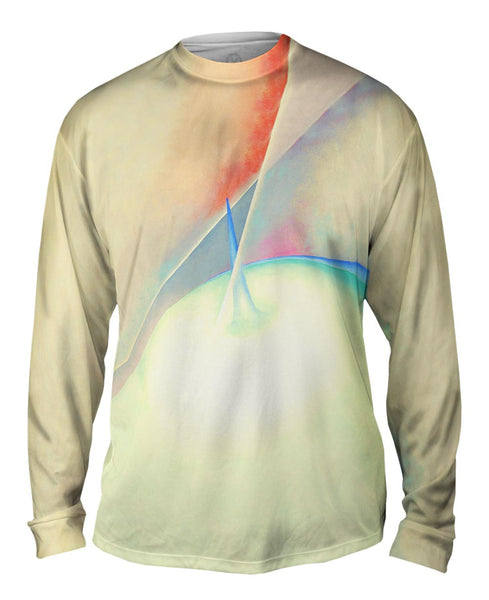 "Georgia O_#_keeffe - ""Series 1 Number 7"" (1919) Mens Long Sleeve"