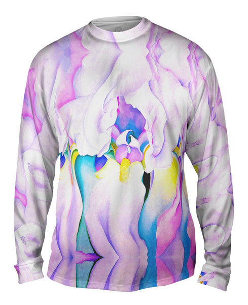 "Georgia OKeeffe - ""Light of Iris"" (1924) Mens Long Sleeve"