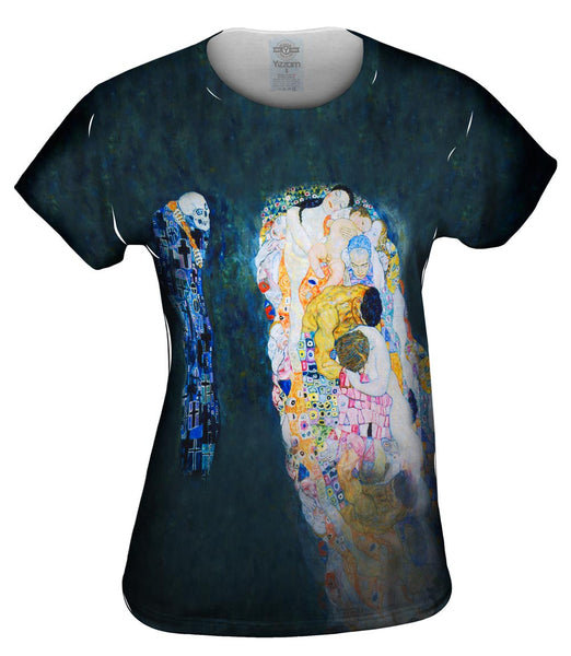 "Gustav Klimt - ""Death and Life"" (1916) Womens Top"