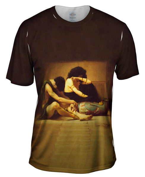 "Charles Sprague Pearce - ""The Death of the Firstborn"" (1877) Mens T-Shirt"
