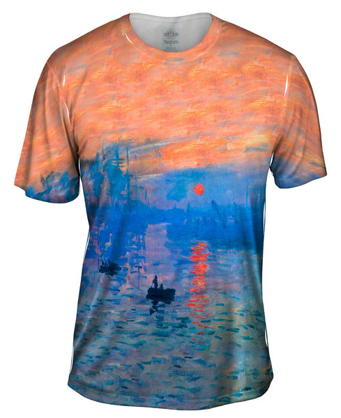"Claude Monet - ""Impression Sunrise"" (1873) Mens T-Shirt"