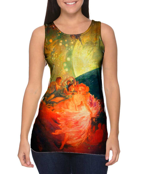 "Albert Besnard - ""Decoration For A Ceiling"" (1891) Womens Tank Top"