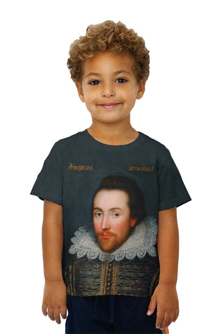 "Kids Cobbe - ""Portrait Of William Shakespeare"" (1610)"