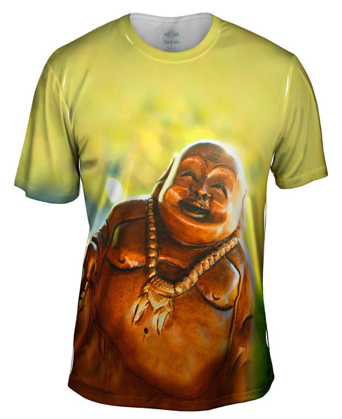"""Laughing Buddha"" Mens T-Shirt"