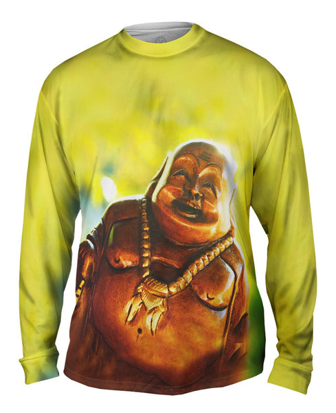 """Laughing Buddha"" Mens Long Sleeve"