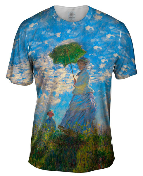 "Claude Monet - ""La Promenade"" (1875) Mens T-Shirt"