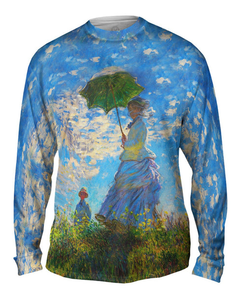 "Claude Monet - ""La Promenade"" (1875) Mens Long Sleeve"