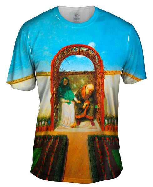 "Arnold Bocklin - ""Under The Arbor"" (1891) Mens T-Shirt"