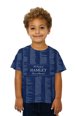 "Kids William Shakespeare Literature - ""The Tragedy Of Hamlet"" (1560)"