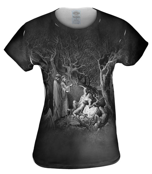 "Gustave Dore - ""The Inferno Canto 13"" (1857) Womens Top"