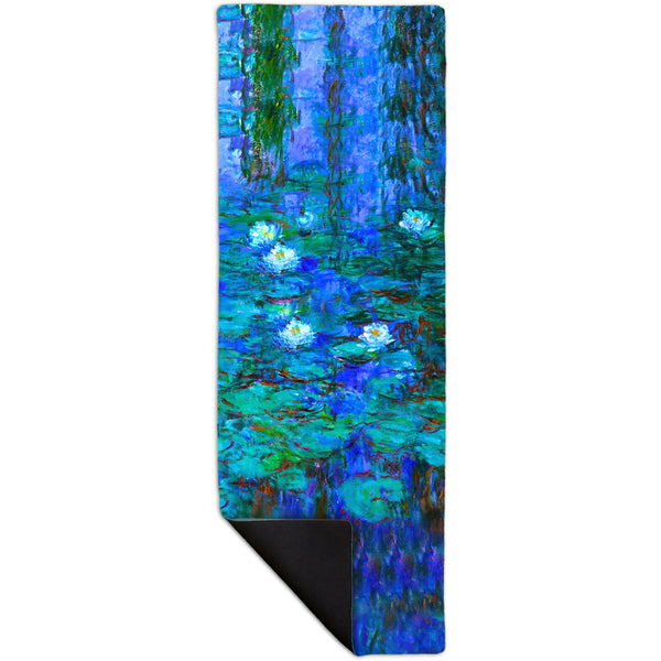 "Claude Monet - ""Blue Water Lilies"" (1916) Yoga Mat"