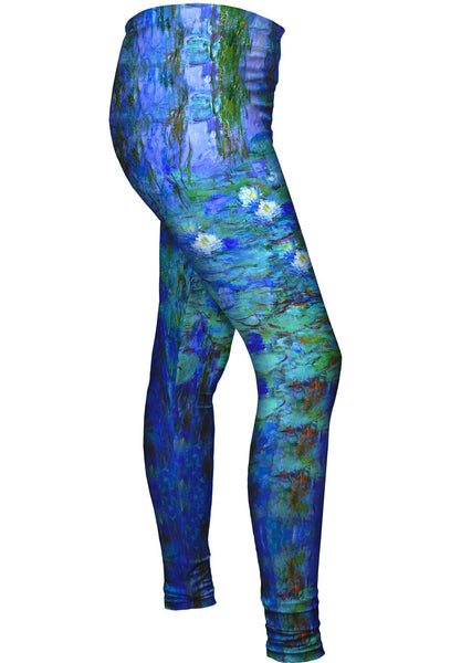 "Claude Monet - ""Blue Water Lilies"" (1916) Womens Leggings"