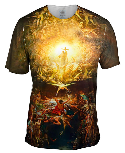 "Gustave Dore - ""Triumph Of Christianity"" (1899) Mens T-Shirt"
