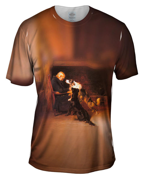 "Briton Riviere - ""The Long Sleep"" (1868) Mens T-Shirt"