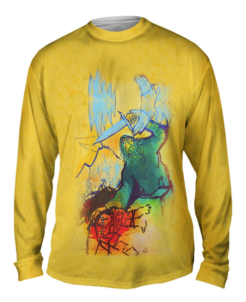 "Adi Holzer Adi Holzer - ""The Sacrifice Of Isaac"" Mens Long Sleeve"