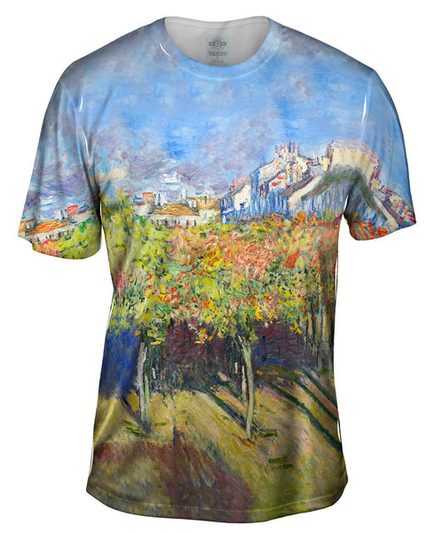"Claude Monet - ""The Lindens Of Poissy"" (1882) Mens T-Shirt"