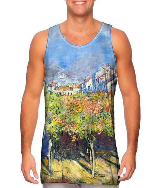 "Claude Monet - ""The Lindens Of Poissy"" (1882) Mens Tank Top"
