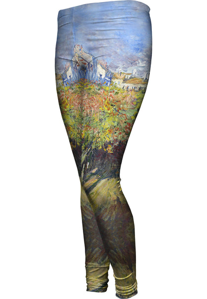 "Claude Monet - ""The Lindens Of Poissy"" (1882) Womens Leggings"