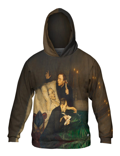 "Alexander Theodore Honore Struy- - ""Birds of Prey The Will"" (1876) Mens Hoodie Sweater"