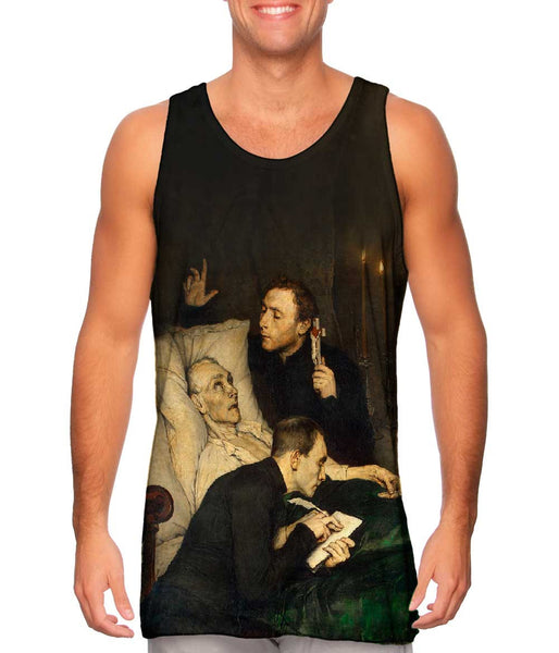 "Alexander Theodore Honore Struy- - ""Birds of Prey The Will"" (1876) Mens Tank Top"
