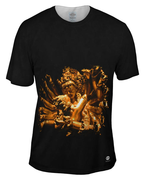 """Gold Love God Statue"" Mens T-Shirt"