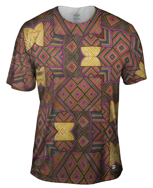 "Eugene Andolsek  - ""Just Folk African Cloth"" Mens T-Shirt"