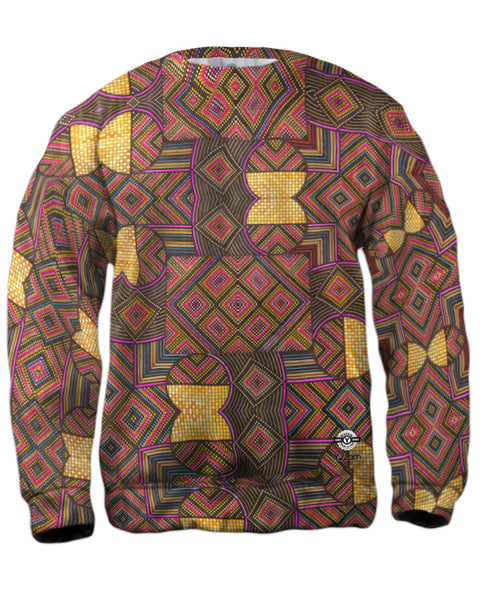 "Eugene Andolsek  - ""Just Folk African Cloth"" Mens Sweatshirt"