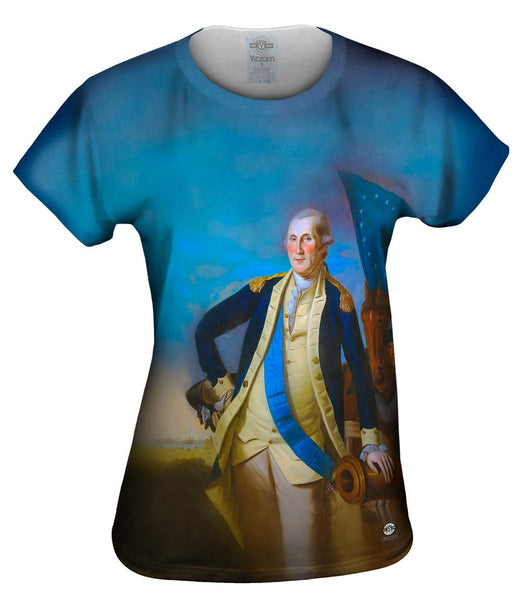 "Charles Willson Peale  - ""George Washington Portrait"" (1780) Womens Top"