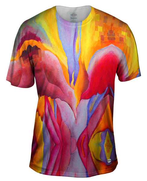 "Georgia Okeeffe - ""Red Canna"" (1922) Mens T-Shirt"