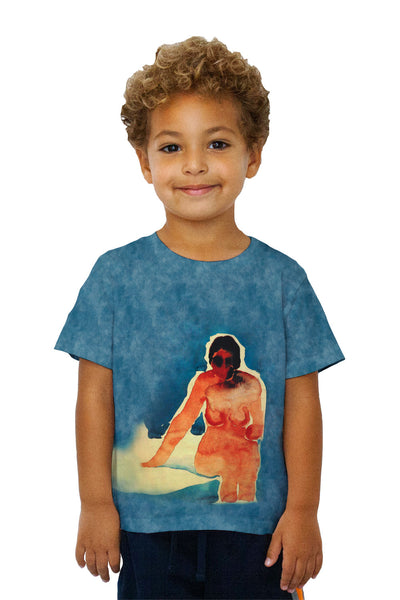"Kids Georgia Okeeffe - ""Seated Nude"" (1917) Kids T-Shirt"